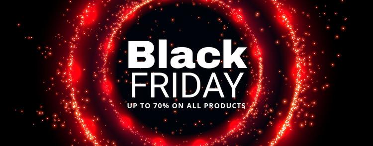 Black Friday prices on tech WordPress Website Builder