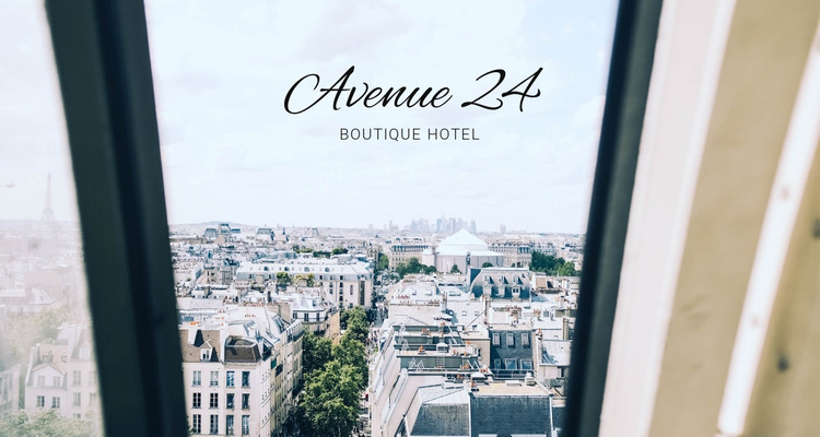 Boutique hotel HTML Template