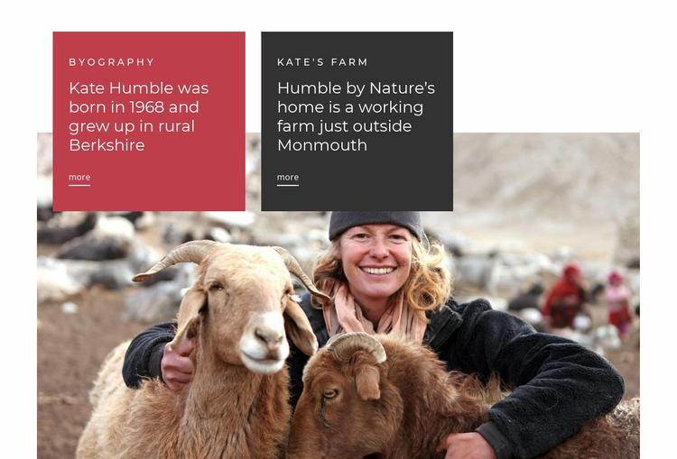 Animal farm  Website Template
