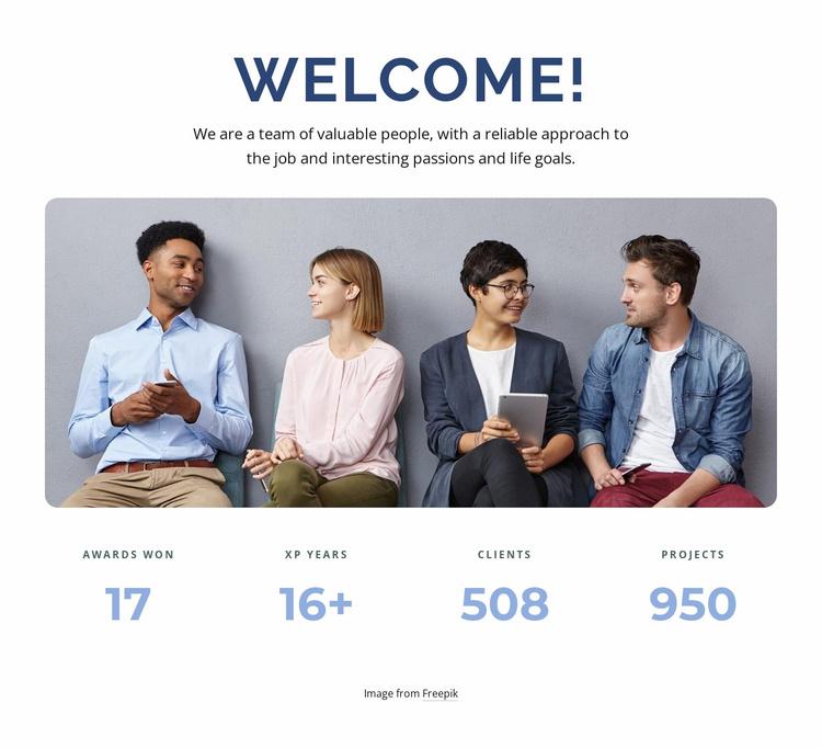Meetings and workshops Landing Page