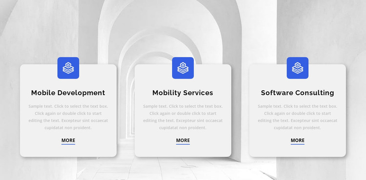 Three reasons to work with us HTML Template