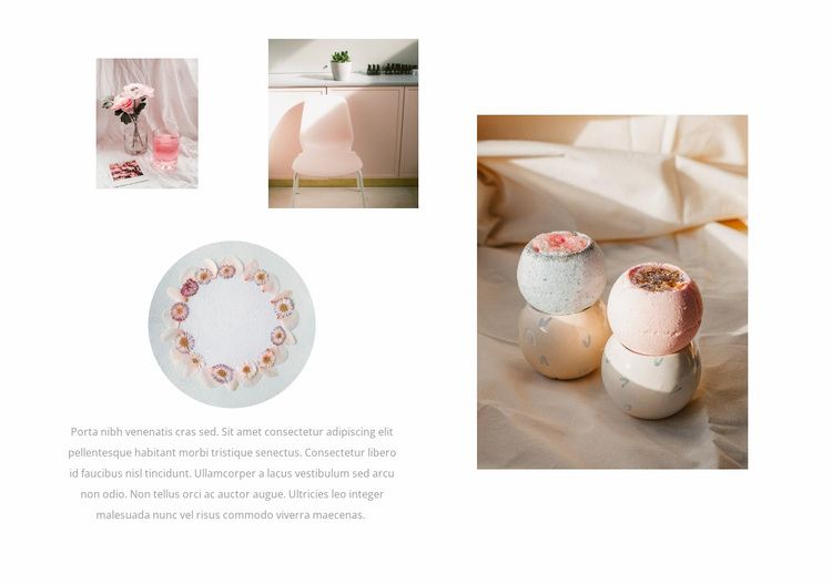 Beauty industry gallery Website Design