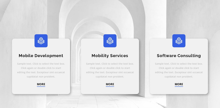 Three reasons to work with us Website Design