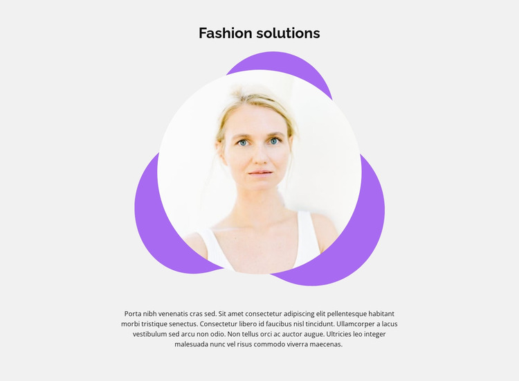 Experienced stylist tips Website Mockup