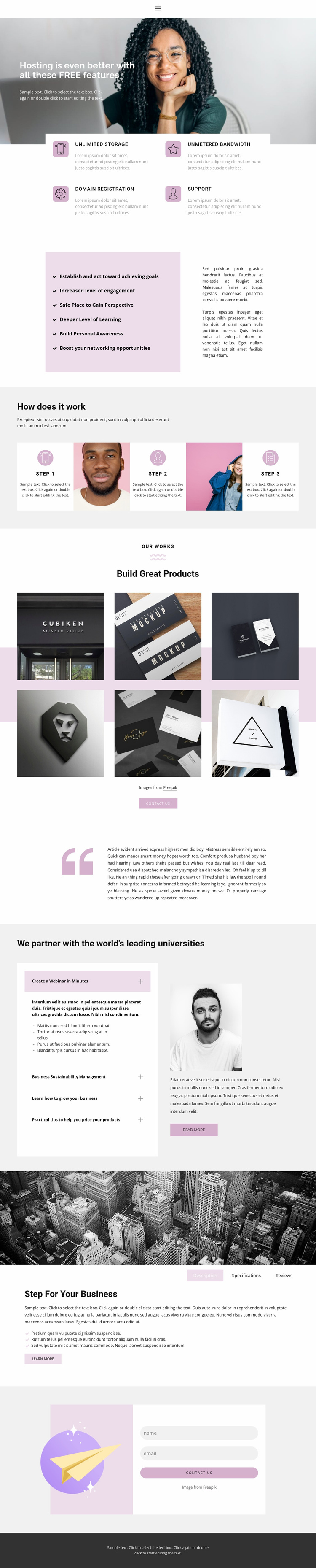 Quick solutions Website Template