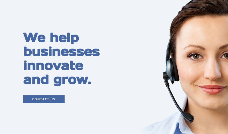 Business innovation and grow Web Page Designer