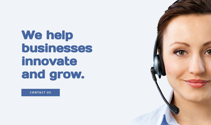 Business innovation and grow Website Maker