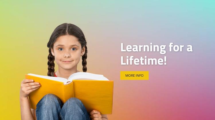 How children learn Html Website Builder