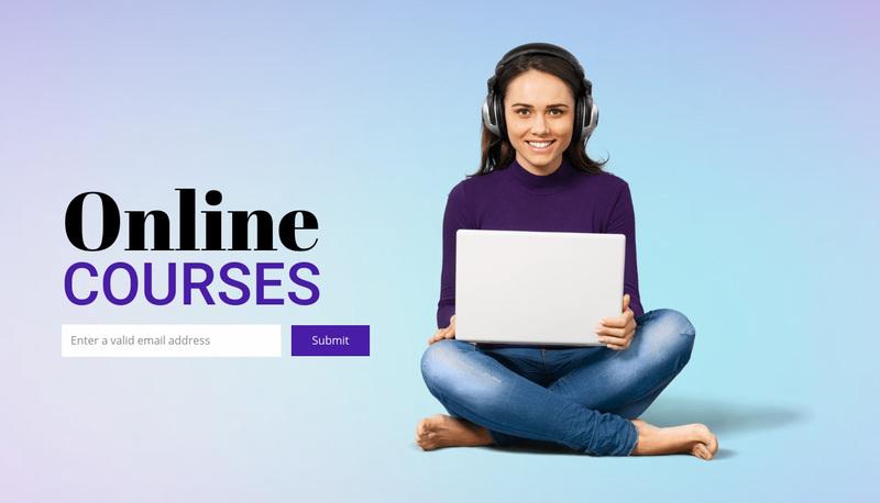 Flexible online study Website Creator
