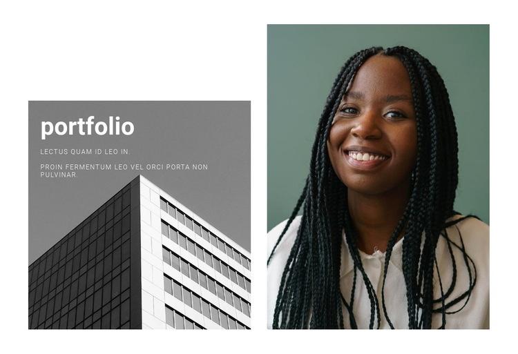 Best Architect Portfolio Web Page Designer