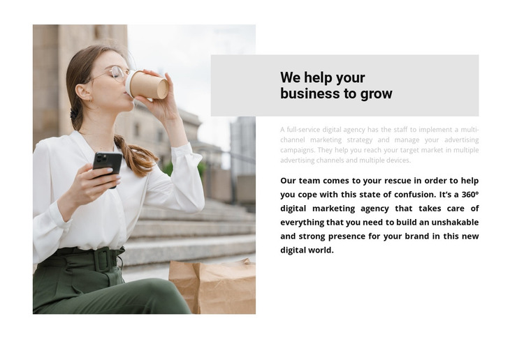 Personal assistant HTML Template