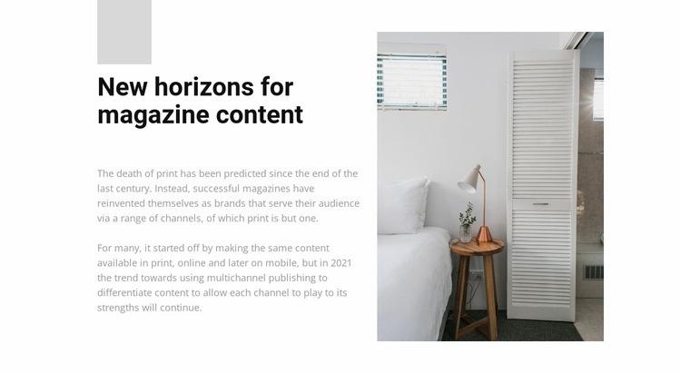 Furniture store Web Page Designer