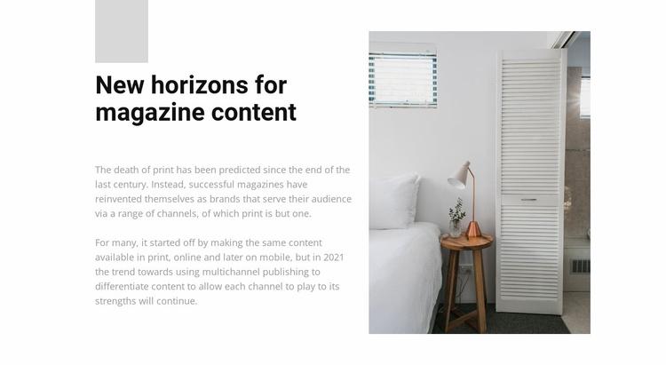 Furniture store Website Template