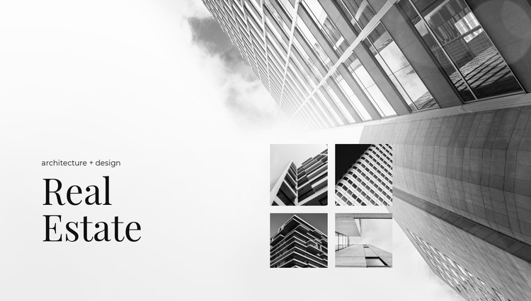 Sales and rentals Website Template
