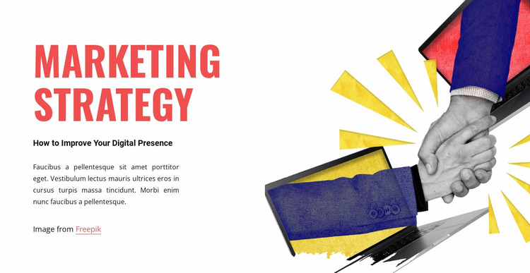 Joint strategy Website Mockup