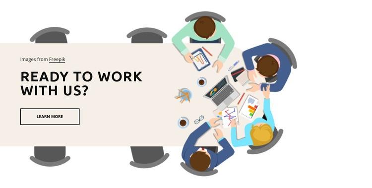 Collaboration Web Page Designer