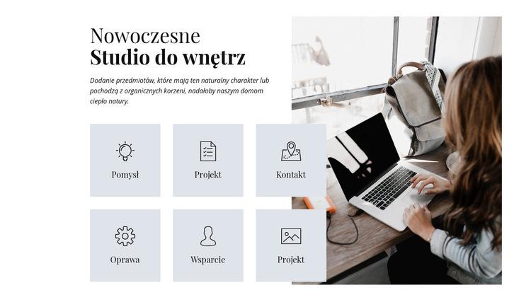 Remonty i przebudowy Szablon witryny sieci Web