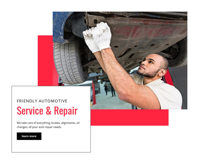 We complete critical repairs HTML Template