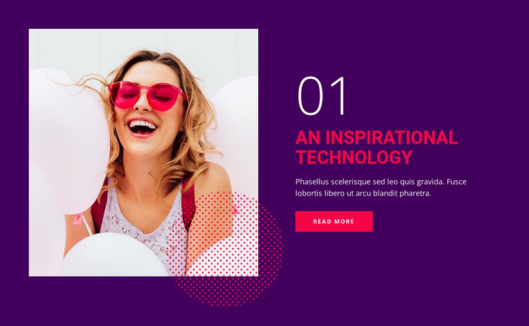Future of  technology and digital HTML5 Template