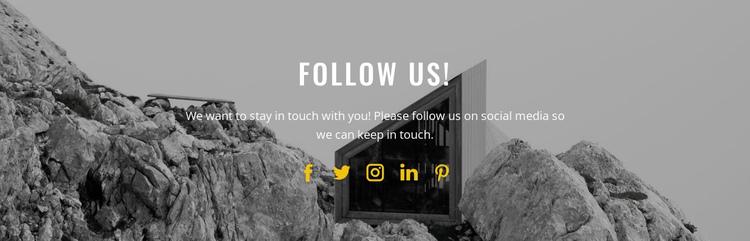 Sign up to our newsletter Website Builder Software