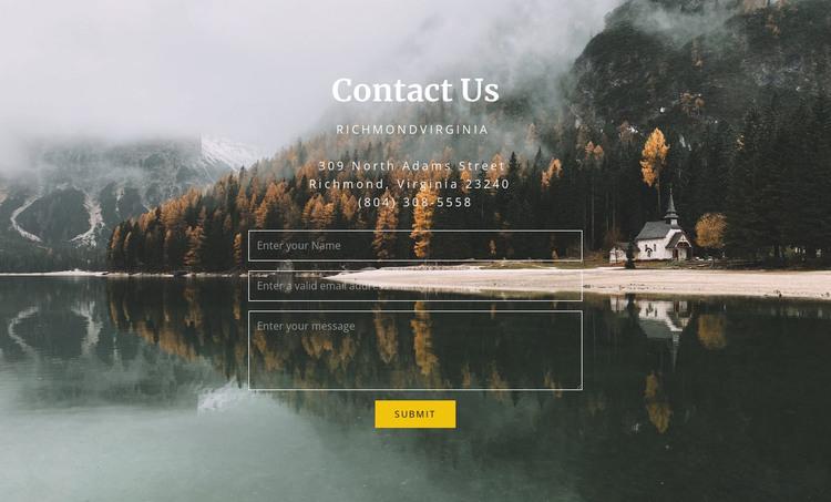 Guest house contacts Web Design