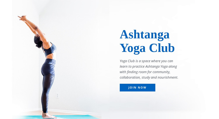 Yoga Healthy Studio Web Design
