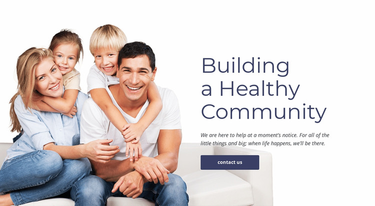 Family and primary care WordPress Website Builder