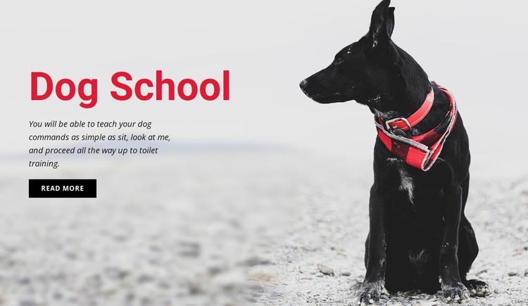 Book a training class Website Template