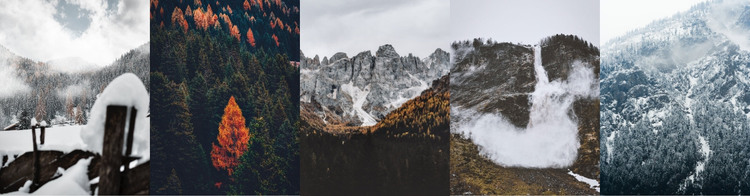 Wonderland trail HTML Template