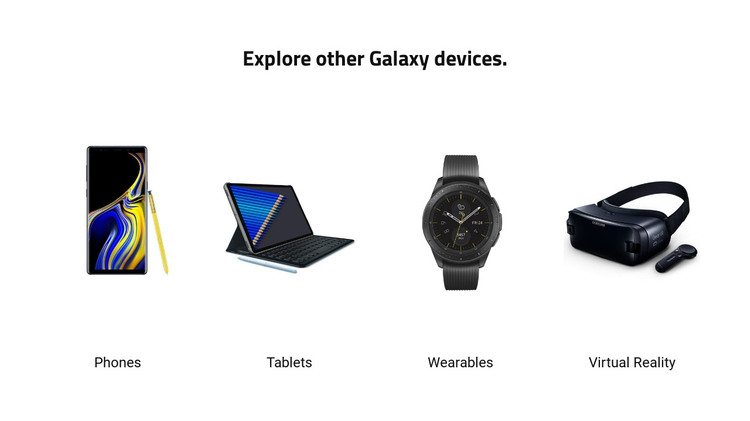 Modern devices Homepage Design