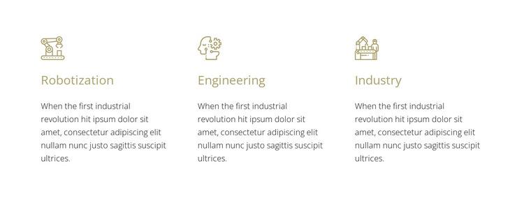 Robotics engineering HTML5 Template