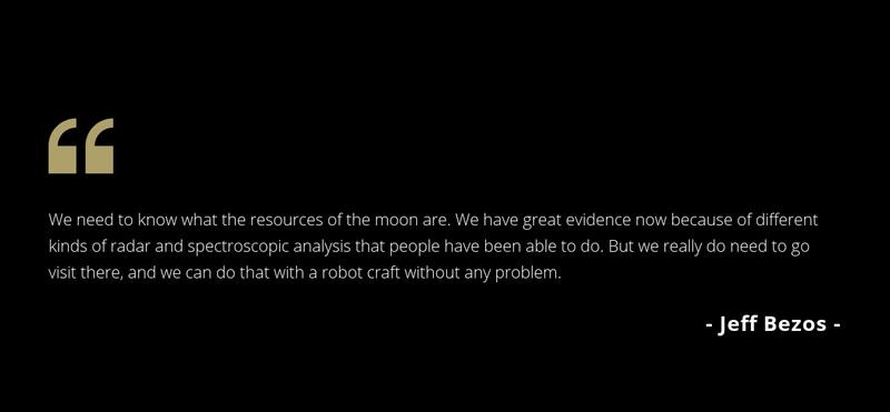 Testimonials on dark background Web Page Design