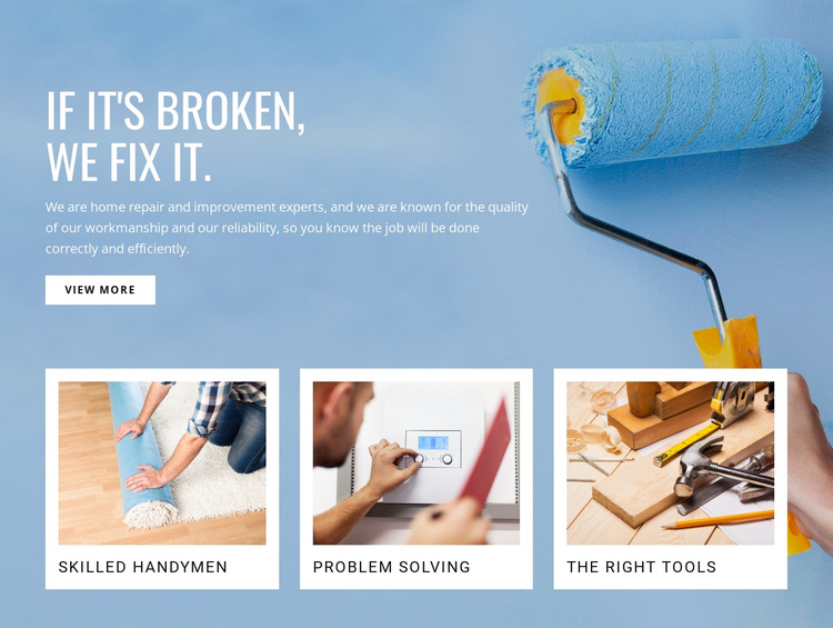 House painting services Joomla Template