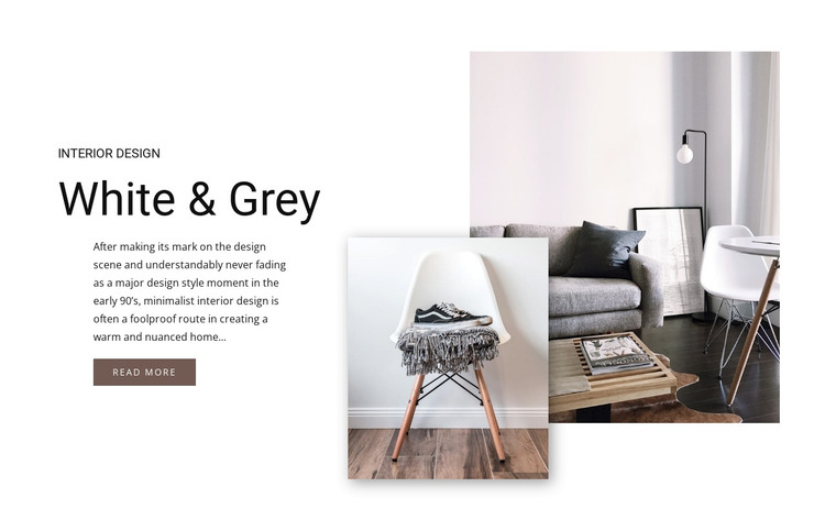 Scandinavian style WordPress Theme