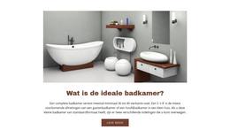 Ideale Badkamers WordPress Thema