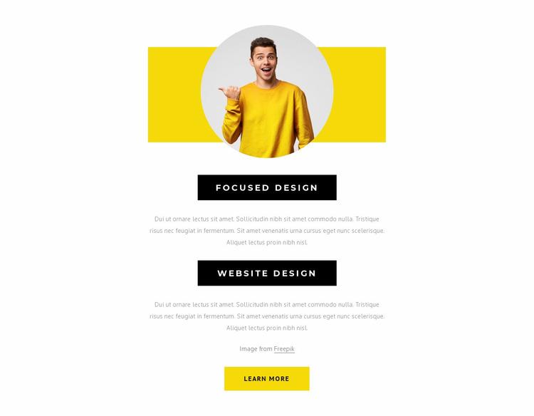 Beautiful digital products Website Mockup