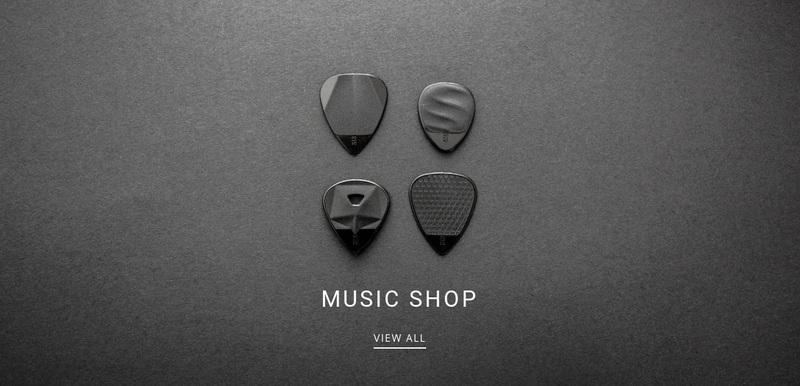 Music shop Website Creator