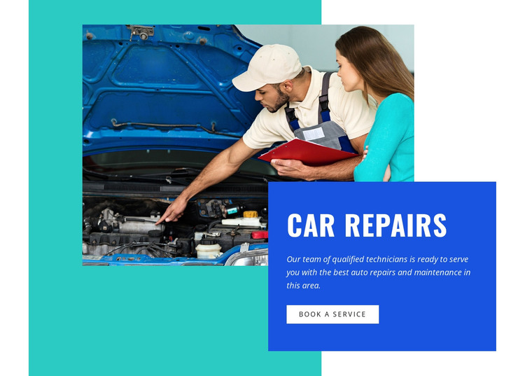 Auto electrical repair and services HTML Template