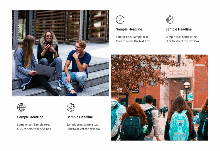 Welcome to university  Website Template