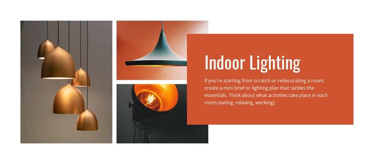 Indoor lighting Woocommerce Theme