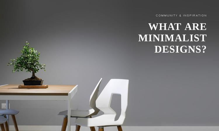 Simplicity wins over complexity Web Design