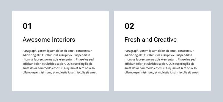 Awesome interiors WordPress Theme