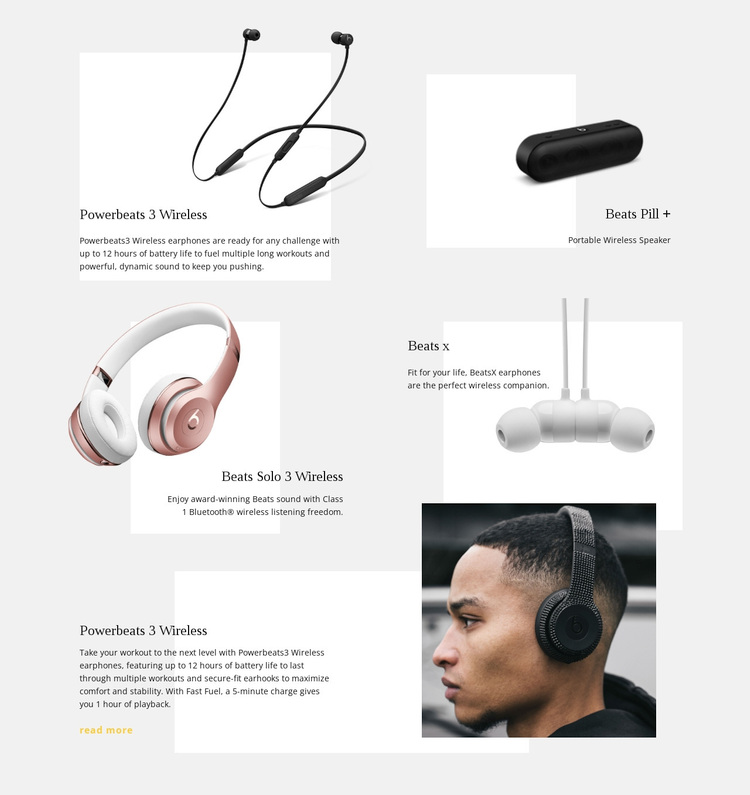 Music Wireless Technology Template