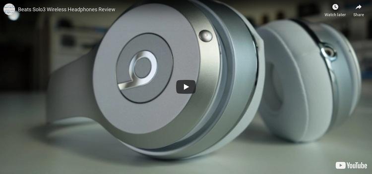 Última tecnología de auriculares Plantilla de sitio web