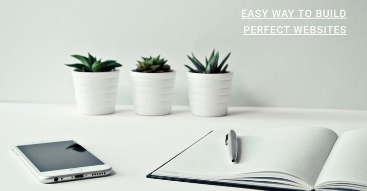 Websites studio WordPress Template