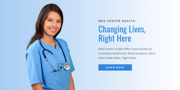 Health & detox center  Woocommerce Theme