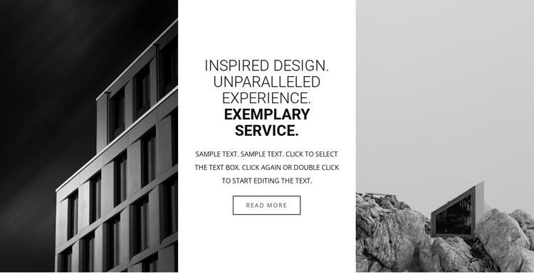 Inspirational design Html Code Example