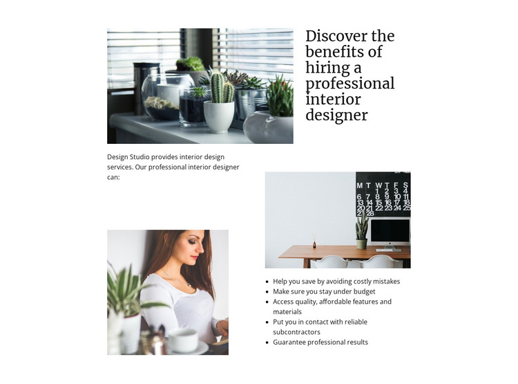 Creating your own space HTML Template