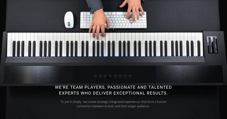 Calm piano music Static Site Generator