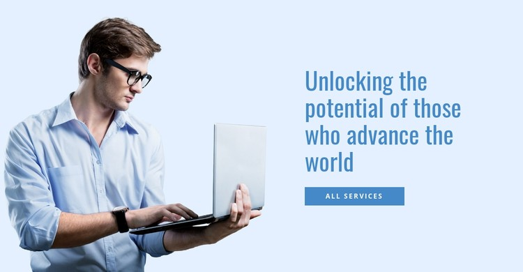 Unleashing the Untapped Potential WordPress Template
